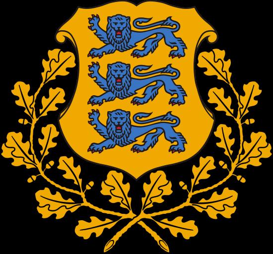 Stemma della Repubblica di Estonia