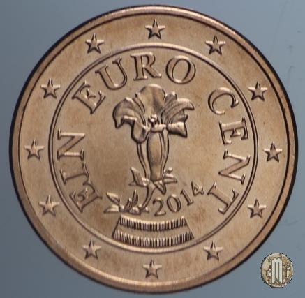 1 centesimo di Euro 2014 (Vienna)