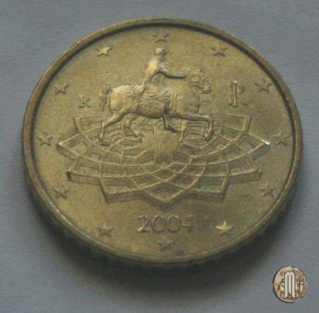 Immagine di una moneta da 50 centesimi di euro 2004 roma for Moneta 50 centesimi