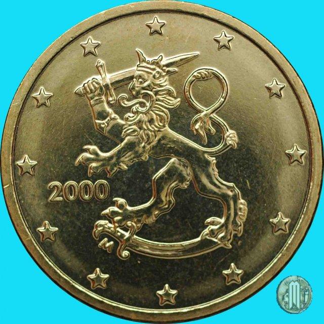 Immagine di una moneta da 50 centesimi di euro 2000 vantaa for Moneta 50 centesimi