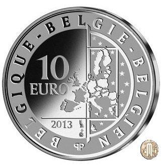 10 euro 2013 Hugo Claus 2013 (Bruxelles)