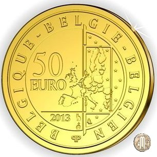 50 Euro 2013 Hugo Claus 2013 (Bruxelles)