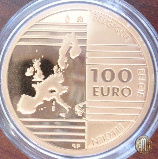 100 Euro 2002 Fondatori della UE 2002 (Bruxelles)
