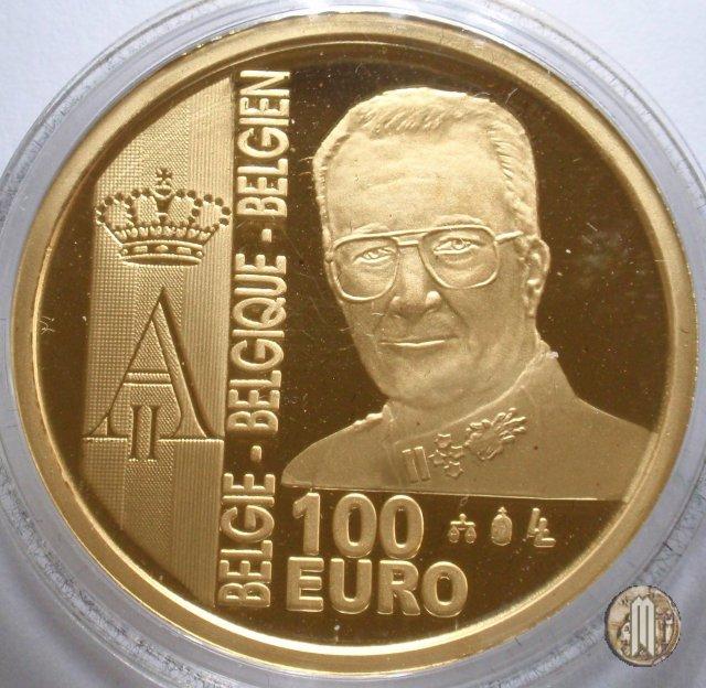 100 Euro 2003 Bicentenario del Franco Germinal 2003 (Bruxelles)