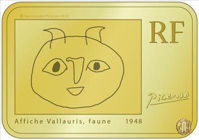 100 Euro 2010 Grandi Pittori - I moderni - Pablo Picasso 2010 (Parigi)