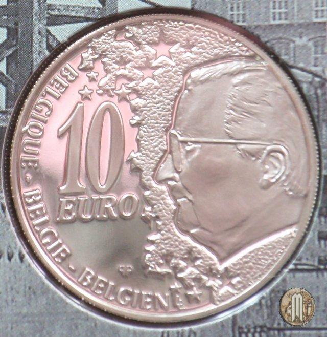 10 Euro 2002 Cinquantenario Linea Nord-Sud 2002 (Bruxelles)