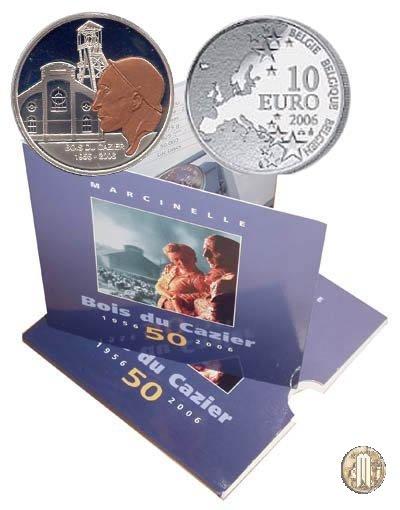 10 Euro 2006 50°della catastrofe di Marcinelle 2006 (Bruxelles)