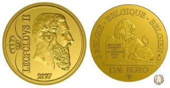 12 1/2 Euro 2007 175° di Regno della Dinastia 2007 (Bruxelles)