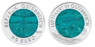 25 Euro 2007 Aviazione Austriaca 2007 (Vienna)