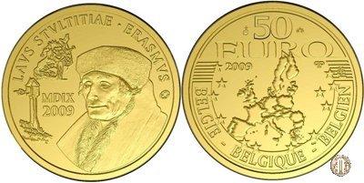 50 Euro 2009 500° L'Elogio della Follia 2009 (Bruxelles)