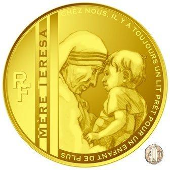 50 Euro 2010 Le Grandi Cause - Centenario della nascita di Madre Teresa 2010 (Parigi)