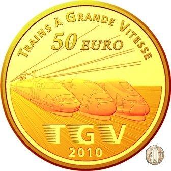 50 Euro 2010 Treni di Francia - Lille Europe e il TGV 2010 (Parigi)