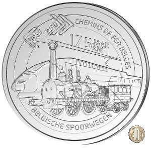 5 Euro 2010 175 Anni della Ferrovia 2010 (Bruxelles)
