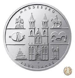 10 Euro 2005 1200 Anni di Magdeburgo 2005 (Berlino)