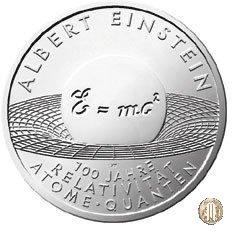 10 Euro 2005 Albert Einstein - 100 Anni della Relatività 2005 (Amburgo)