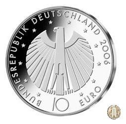 10 Euro 2006 Mondiali di Calcio del 2006 in Germania - 4ª Emissione 2006 (Amburgo:Berlino:Karlsruhe:Monaco:Stoccarda)