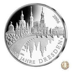 10 euro 2006 800 Anni della Città di Dresda 2006 (Berlino)