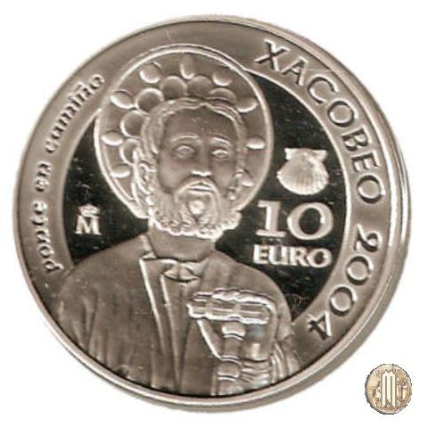 10 Euro 2004 Año Santo Xacobeo 2004 2004 (Madrid)