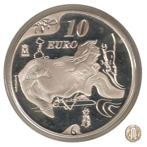 10 Euro 2004 Centenario della nascita di Salvador Dalí - El gran masturbador 2004 (Madrid)