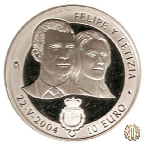 10 Euro 2004 Filippo e Letizia 2004 (Madrid)