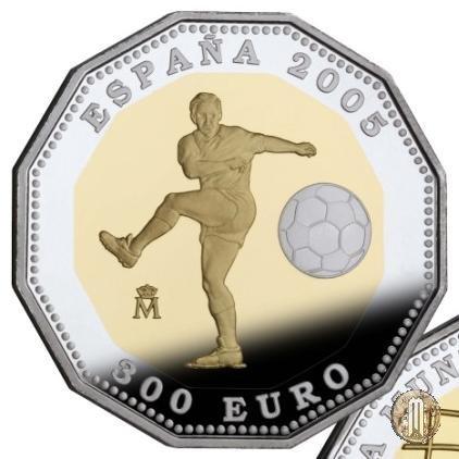 300 Euro 2005 Coppa del Mondo Germania 2006 - Emissione 2005 2005 (Madrid)