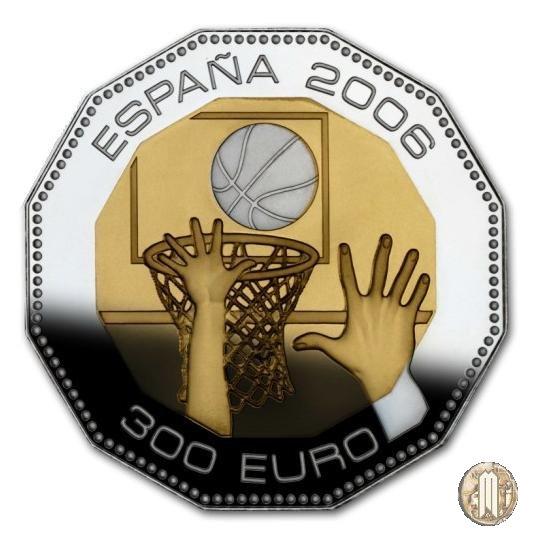 300 Euro 2006 Campioni del Mondo Basket - Giappone 2006 2005 (Madrid)