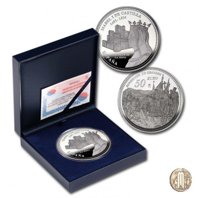 50 Euro 2004 V Centenario di Isabella I di Castiglia 2004 (Madrid)